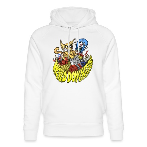 WORLD DOMINATION - Unisex Organic Hoodie by Stanley & Stella