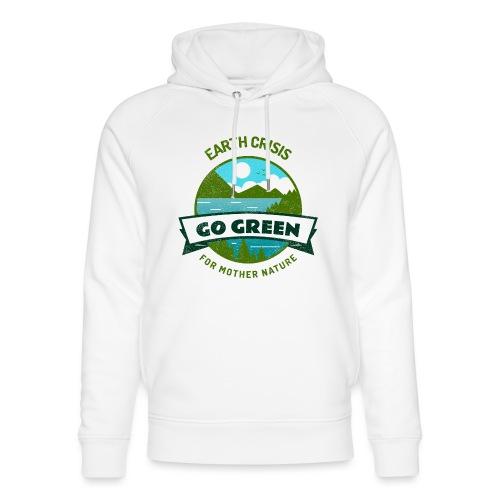 Earth Crisis Go Green For Mother Nature - Uniseks bio-hoodie van Stanley & Stella