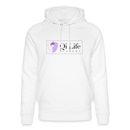 Qi Life Academy Promo Gear - Unisex Organic Hoodie by Stanley & Stella