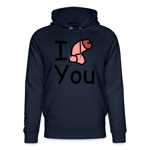 I dong you pack - Unisex Organic Hoodie by Stanley & Stella