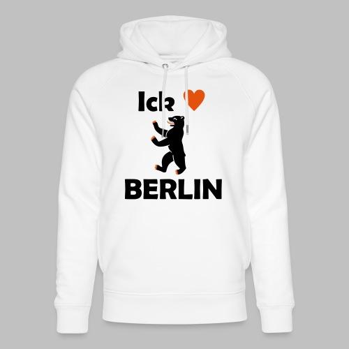 Ick liebe ❤ Berlin - Unisex Bio-Hoodie von Stanley & Stella