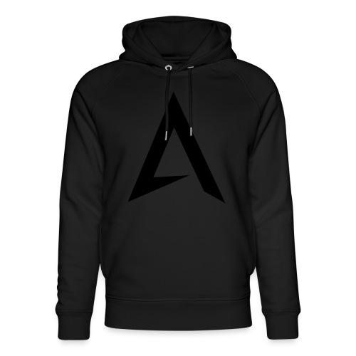 alpharock A logo - Unisex Organic Hoodie by Stanley & Stella
