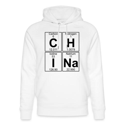 C-H-I-Na (china) - Full - Unisex Organic Hoodie by Stanley & Stella