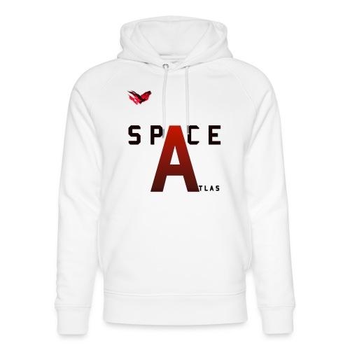 Space Atlas Baseball Long Sleeve Capital A - Stanley & Stella unisex hoodie af økologisk bomuld