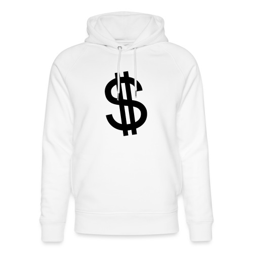 Dollar - Sudadera con capucha ecológica unisex de Stanley & Stella