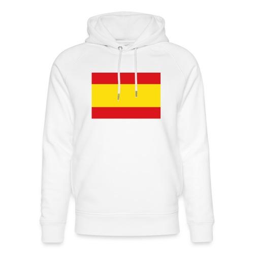 vlag van spanje - Uniseks bio-hoodie van Stanley & Stella