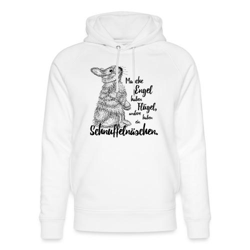 Kaninchen Hasen Zwergkaninchen Engel Liebe - Unisex Bio-Hoodie von Stanley & Stella