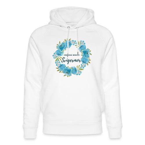 Verdens bedste svigermor - Stanley & Stella unisex hoodie af økologisk bomuld