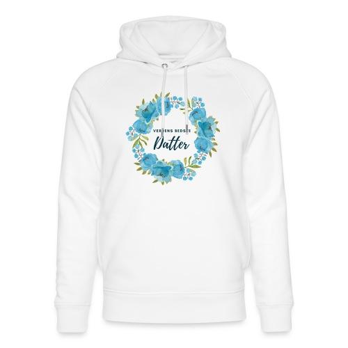 Verdens bedste datter - Stanley & Stella unisex hoodie af økologisk bomuld