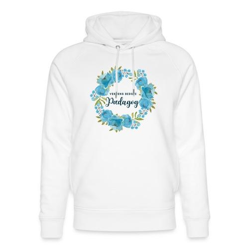 Verdens bedste pædagog - Stanley & Stella unisex hoodie af økologisk bomuld