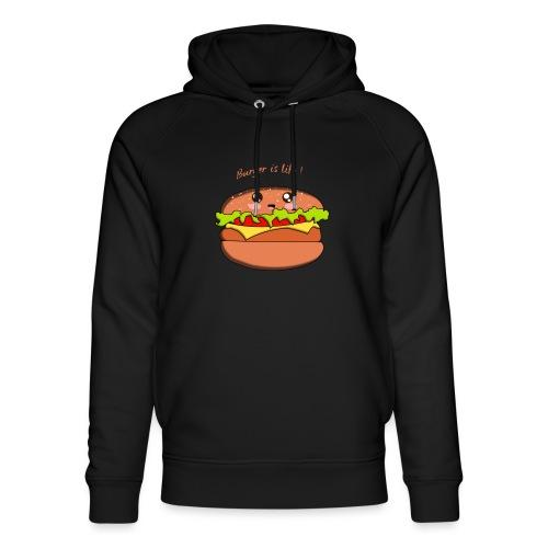 hamburger - Sweat à capuche bio Stanley & Stella unisexe