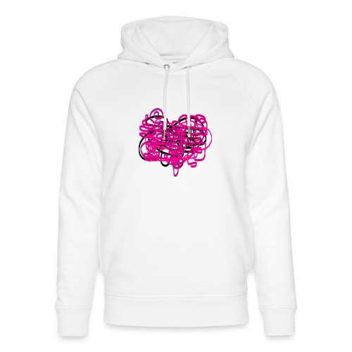 delicious pink - Unisex Organic Hoodie by Stanley & Stella