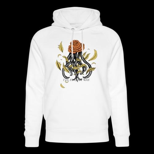 Rose octopus - Sweat à capuche bio Stanley & Stella unisexe