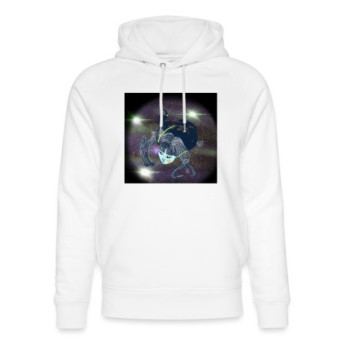 the Star Child - Unisex Organic Hoodie by Stanley & Stella