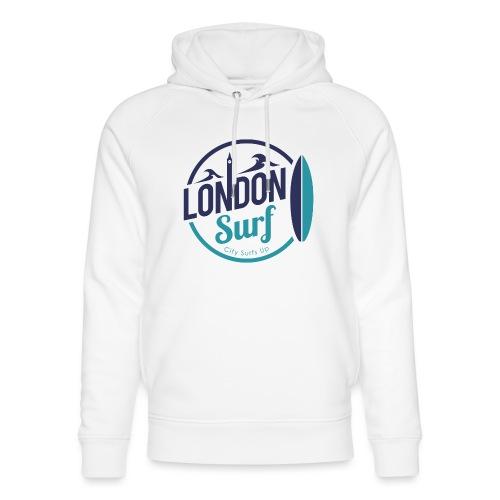 London Surf Classic Logo - Unisex Organic Hoodie by Stanley & Stella