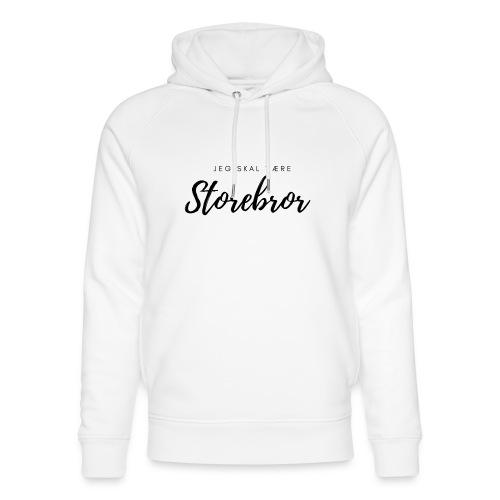 Jeg skal være storebror - Stanley & Stella unisex hoodie af økologisk bomuld