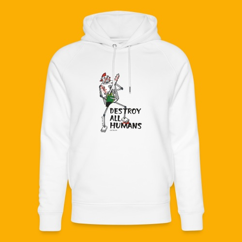 Dat Robot: Destroy Series Killer Clown Light - Uniseks bio-hoodie van Stanley & Stella