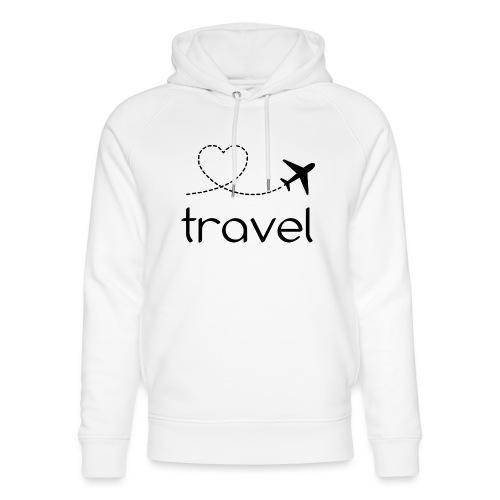 travel, naturelovers, google travel - Unisex Organic Hoodie by Stanley & Stella