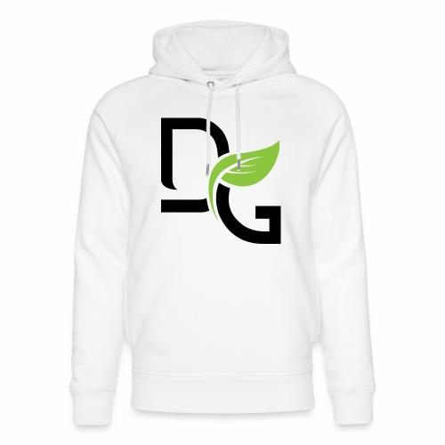 DrGreen Logo Symbol schwarz grün - Unisex Bio-Hoodie von Stanley & Stella