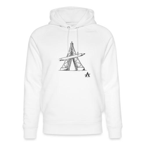 Tour Eiffel Crayon - Sweat à capuche bio Stanley & Stella unisexe
