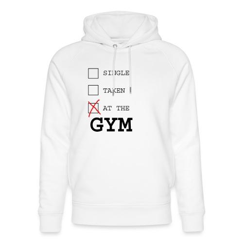 single taken gym - Uniseks bio-hoodie van Stanley & Stella