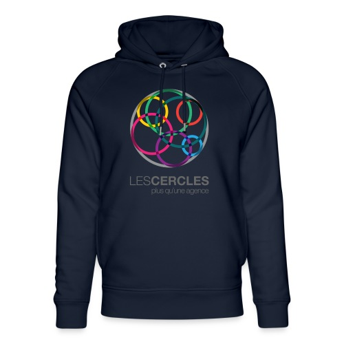LESCERCLES Logo Colour - Unisex Organic Hoodie by Stanley & Stella