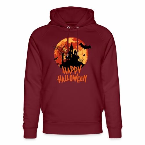 Bloodmoon Haunted House Halloween Design - Unisex Bio-Hoodie von Stanley & Stella