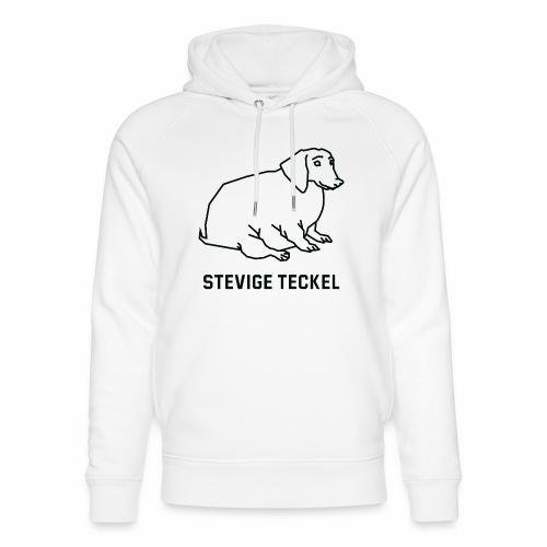 Stevige Teckel - Uniseks bio-hoodie van Stanley & Stella