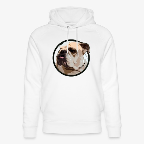 Bulldog - Unisex Organic Hoodie by Stanley & Stella