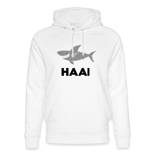 haai hallo hoi - Uniseks bio-hoodie van Stanley & Stella