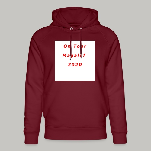 On Tour In Magaluf, 2020 - Printed T Shirt - Unisex Organic Hoodie by Stanley & Stella