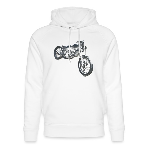 bike (Vio) - Unisex Organic Hoodie by Stanley & Stella