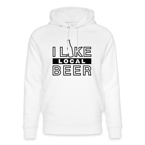 I Like Local Beer (swity) - Unisex Bio-Hoodie von Stanley & Stella