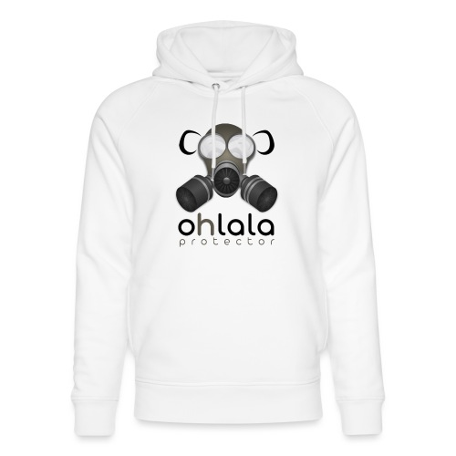 OHLALA PROTECTOR BLK - Sweat à capuche bio Stanley & Stella unisexe
