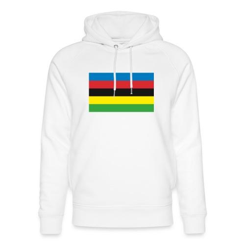 Cycling_World_Champion_Rainbow_Stripes-png - Uniseks bio-hoodie van Stanley & Stella