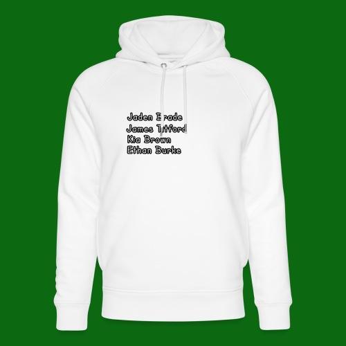 Glog names - Unisex Organic Hoodie by Stanley & Stella