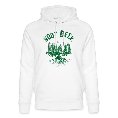 Root deep Urban grün - Unisex Bio-Hoodie von Stanley & Stella