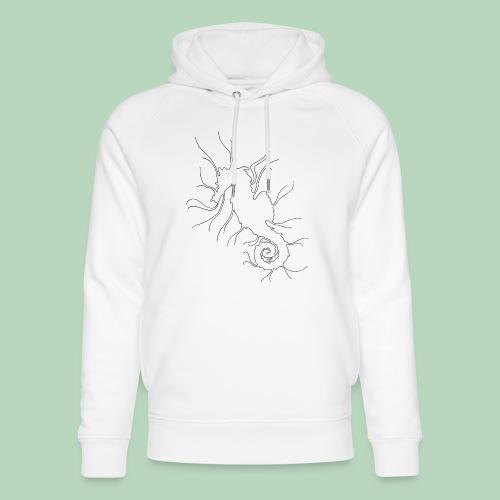 Zeepaardje Seahorse - Uniseks bio-hoodie van Stanley & Stella