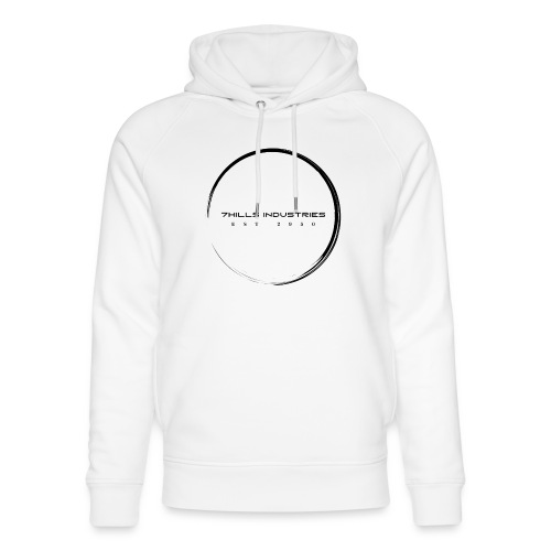 Black logo no background - Unisex Organic Hoodie by Stanley & Stella