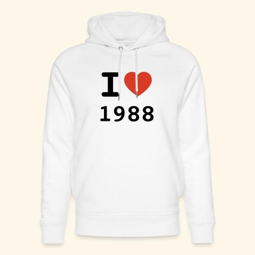 I Love 88 b 001 - Unisex Bio-Hoodie von Stanley & Stella
