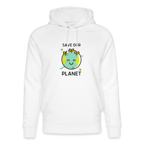 Save our planet LIGHT - Unisex Organic Hoodie by Stanley & Stella