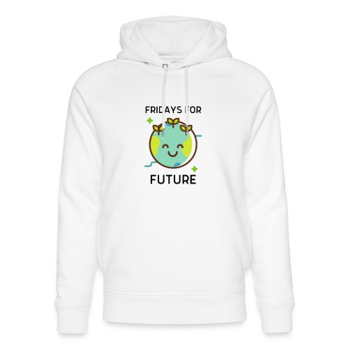 Fridays for Future LIGHT - Unisex Organic Hoodie by Stanley & Stella