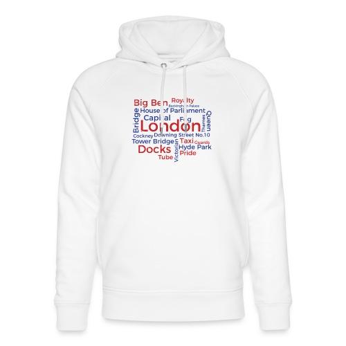 London Word Cloud - London Souvenir Schlagworte - Unisex Bio-Hoodie von Stanley & Stella