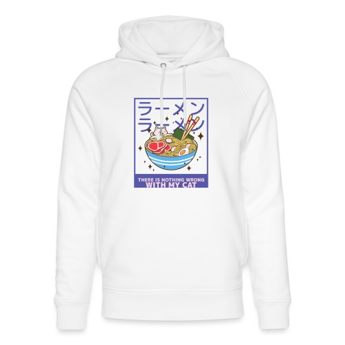 There is nothing wrong with my cat - animal lovers - Sweat à capuche bio Stanley & Stella unisexe
