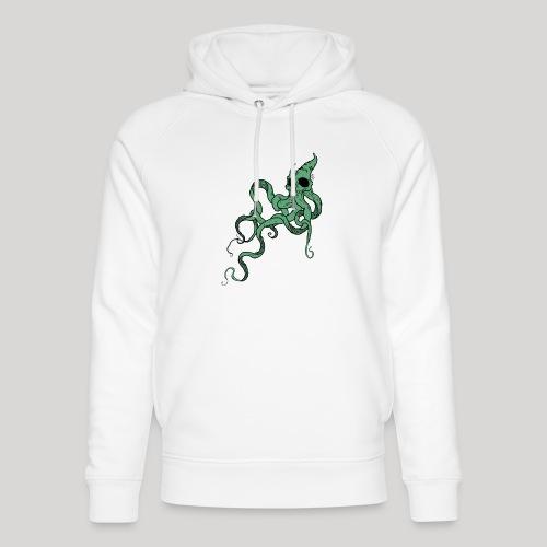 Skull octopus - Felpa con cappuccio ecologica unisex di Stanley & Stella