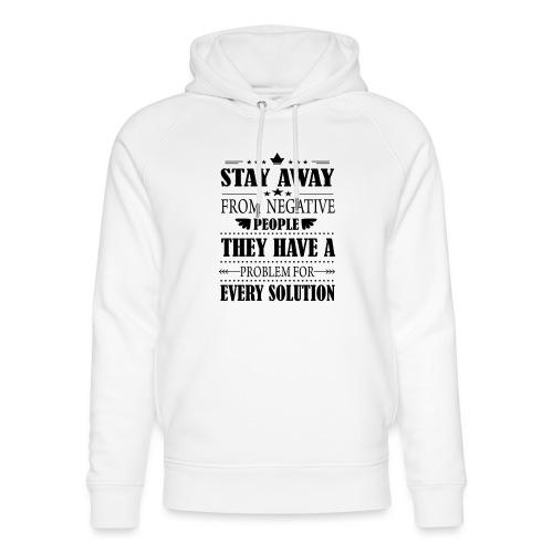 Stay away - Stanley & Stellan unisex-luomuhuppari