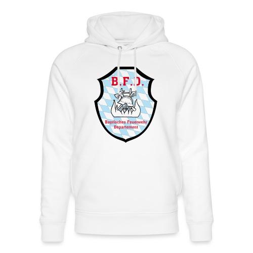 Inoffizielles bayrisches Feuerwehrabzeichen - Unisex Bio-Hoodie von Stanley & Stella