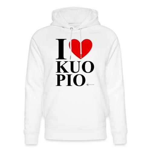 I LOVE KUOPIO ORIGINAL (musta) - Stanley & Stellan unisex-luomuhuppari