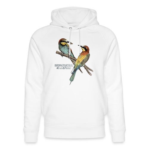 Bee-eater Birdingplaces - Unisex Organic Hoodie by Stanley & Stella