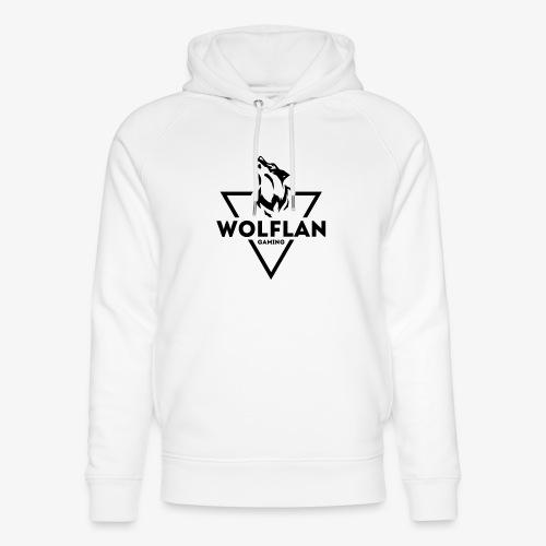 WolfLAN Gaming Logo Black - Unisex Organic Hoodie by Stanley & Stella